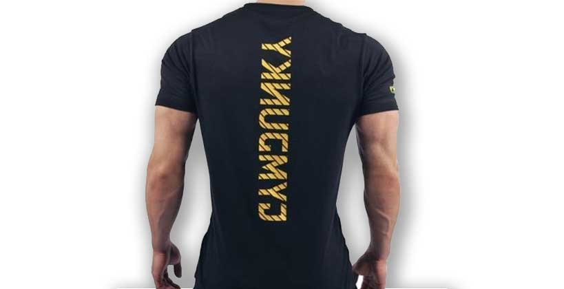 Camisetas gimnasio
